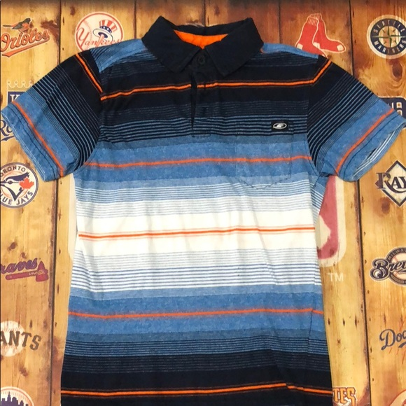 First Wave Other - Boys first wave stripped polo.